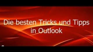 #2 Outlook: Die besten Trick/Tipps: Kalender