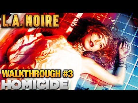 LA Noire Walkthrough Part 3: Homicide Desk (5 Stars)