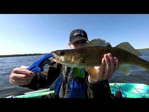 Episode 31 (Season 2): Kayak Fishing At Crawling Valley, Hot Walleye And Pike Action And A Giveaway!