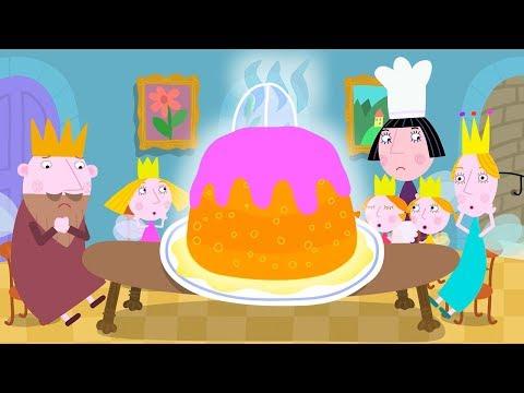 Ben y Holly - Ben y Holly  La cena - Compilación de 2018 - Dibujos Animados