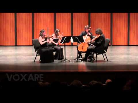 Voxare String Quartet (Mendelssohn: String Quartet in A Minor, Op. 13, mvt. 2)