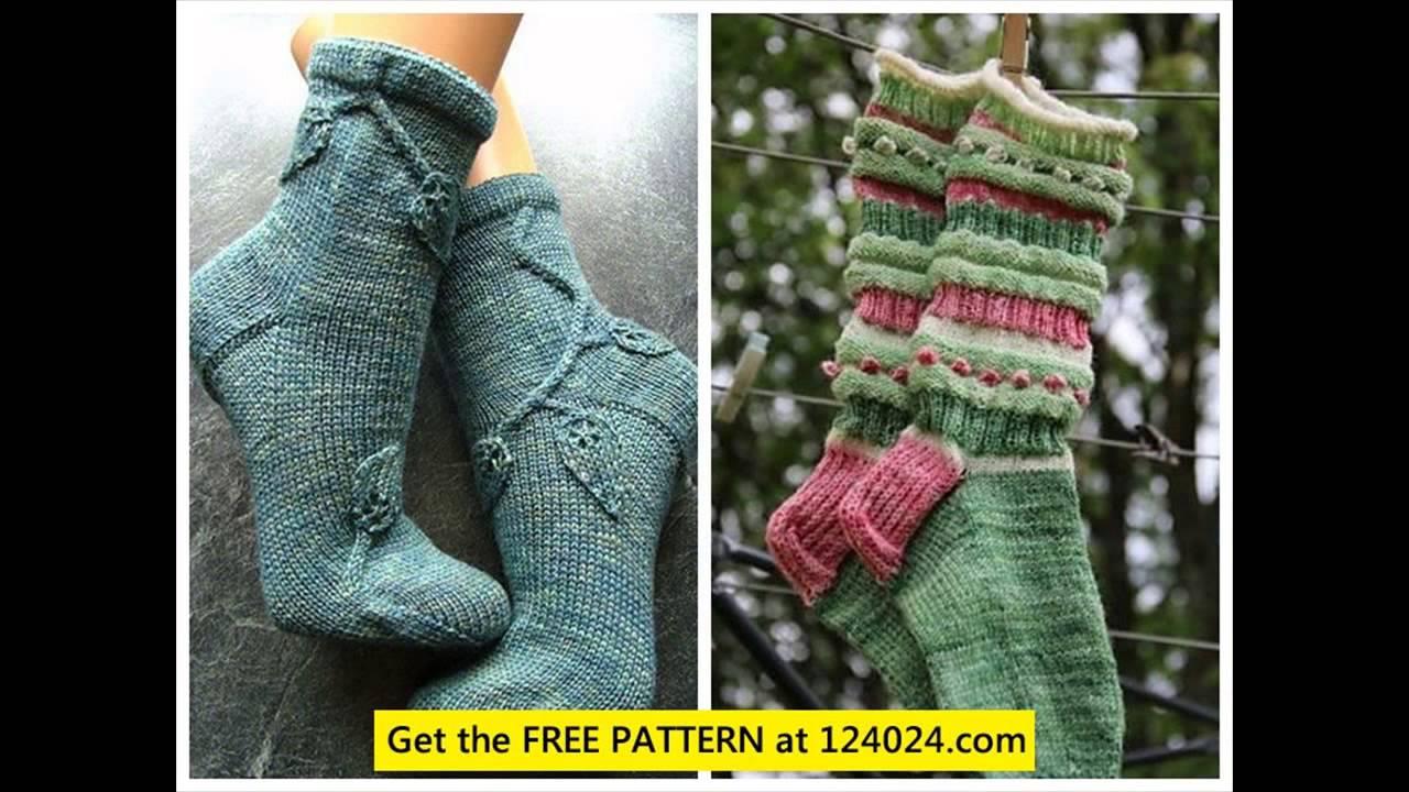 knit knee high socks knitting socks toe up knitting socks in the ...