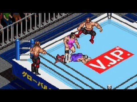 Fire Pro Wrestling 2 Gba Road Warriors Vs Steiner