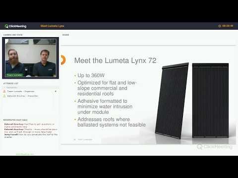 Lumeta Solar Webinar - Meet Lumeta Lynx
