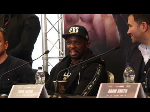 '***** YOU & DAVID HAYE CAN SHARE IT FROM BOTH ENDS' - DILLIAN WHYTE SHOCKING TRASH TALK TO CHISORA