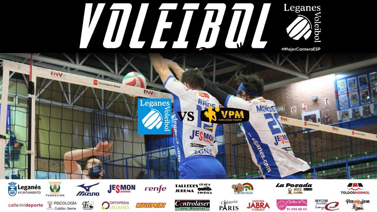 🎥 Resumen de la jornada: SM2   Voleibol Leganés vs VP Madrid