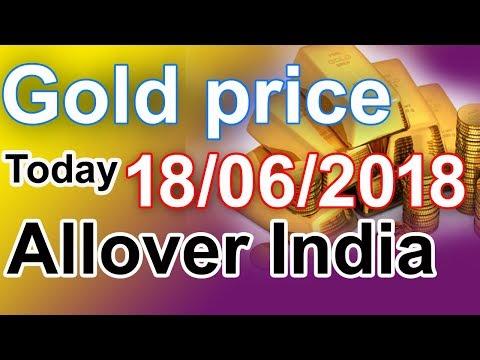 Gold price today 18/06/2018 in Chennai, Mumbai, Delhi, Bangalore, Kolkata, Kerala  Gold buying price