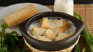 Changua Recipe - How To Make Colombian Milk Soup - SyS
