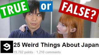 Download Video 25 Weird Things about Japan | TRUE or FALSE? MP3 3GP MP4