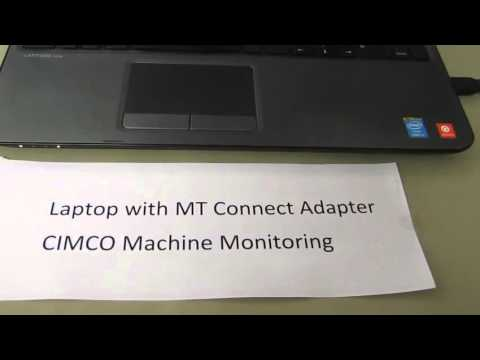 Use of CIMCO Machine Monitoring, MDC for MTConnect protocol