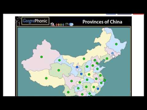 Provinces of China,  Henan, Hunan, Anhui, Beijing, Zhejiang, Guizhou, Yunnan, Jilin, Qinghai,
