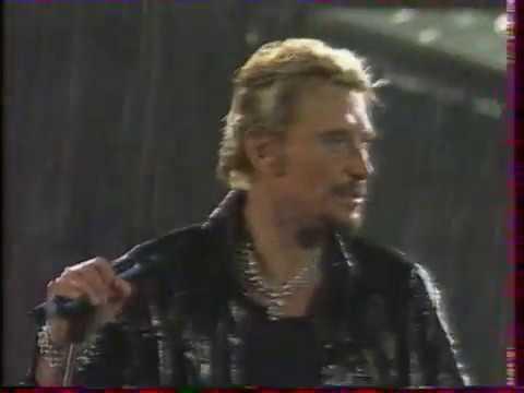 """Johnny Hallyday  """"Un soir de pluie"""""""