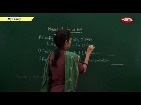 CBSE Class 2 Science : My Family | Class 2 Science School Syllabus | CBSE Class 2 Videos | NCERT
