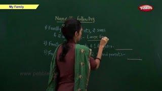CBSE Class 2 Science : My Family | Class 2 Science School Syllabus | CBSE Class 2 Videos | NCERT Thumbnail