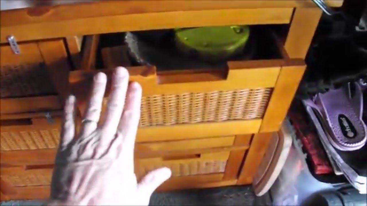 Van Quickies - Drawer Stops / Travel Vids