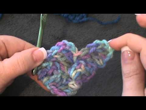 Crochet Stitches C2c : C2C- Corner to Corner Crochet - YouTube
