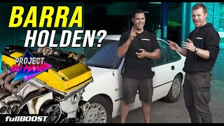 Budget Barra Holden project car | NOMANG ep01| fullBOOST