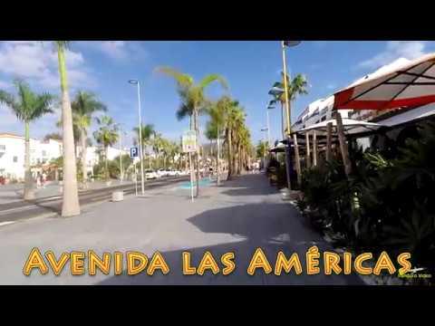 Tenerife 2016 Walk Primecomfort California - Avenida las Americas and back