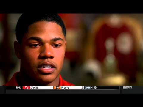 Sterling Shepard ESPN Disney Spirit Award Broadcast (Interview)