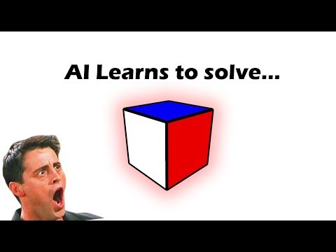A.I. Learns to Solve a 1x1x1 rubik's cube [NOT CLICKBAIT]
