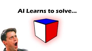 A.I. Learns to Solve a 1x1x1 rubik