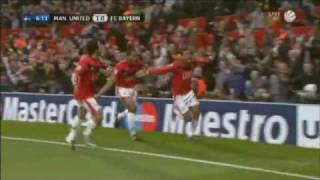 Manchester United - Fc Bayern München  3:2 cl 2010 HD