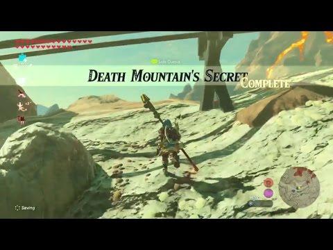 Zelda: Breath of the Wild | Death Mountain's Secret Side Quest - Eldin Tower Region