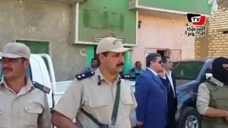 الأمن يحاصر قرية ببني سويف بعد اشتباكات بين مسلمين وأقباط