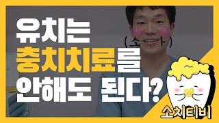 [소치TV/김준혁과장] 유치는 충치치료를 안해도 되나요…