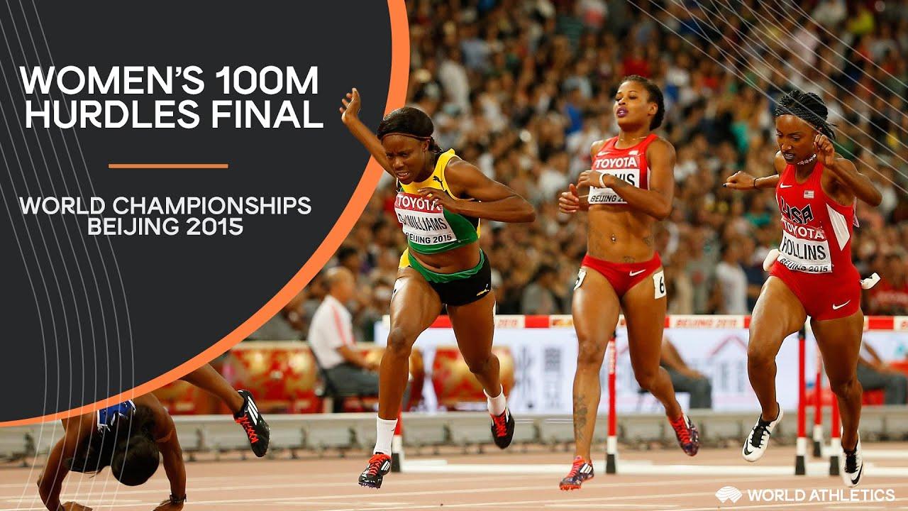 Women's 100m Hurdles Final | World Athletics Championships Beijing 2015