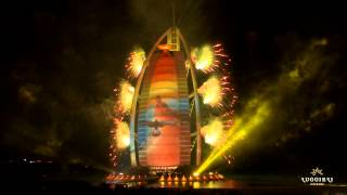 Dubai 43rd National Day - Burj Al Arab 2014 - Ruggieri