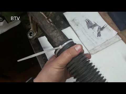 Снятие и ремонт рулевой рейки Меган -2 Scenic-2 (часть 2)