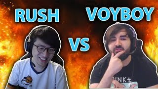 RUSH BM VOYBOY THEN GETS OWNED | NUKEDUCK SOLO KILLS CAPS - TOP LoL Series #25