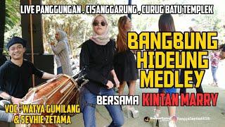 Kintan Marry Joged Bangbung Hideung | live cisanggarung curug batu templek | voc : watya \\u0026 sevhie