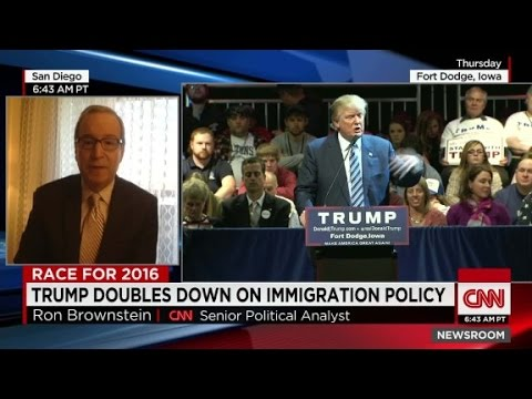 Trump Organization Exec. speaks on immigration policy