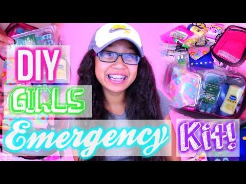 ♥ DIY Girls Emergency Kit! ♥