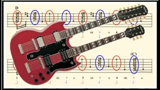 Stairway to Heaven Strumming Pattern (Bridge/Fanfare Timing Explained)
