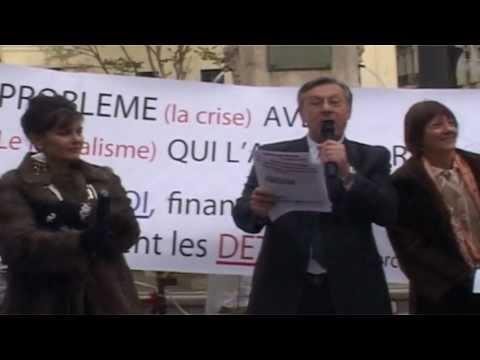 """comité de soutien pour """"Goldman Sachs"""" (Marseille).MOV"""