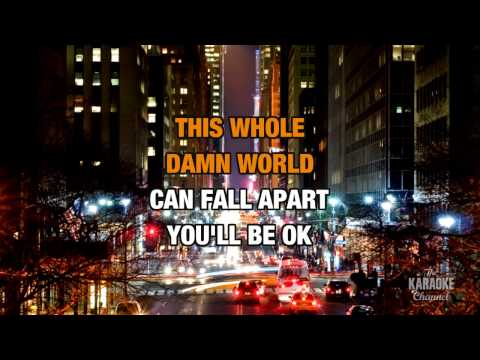You Get What You Give in the style of New Radicals | Karaoke with Lyrics