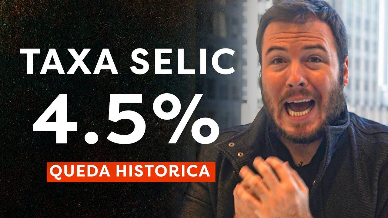 """Resultado de imagem para taxa selic em 4,5%"""""""