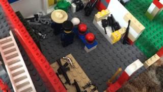 Лего самодельные постройки #1 полицейский участок