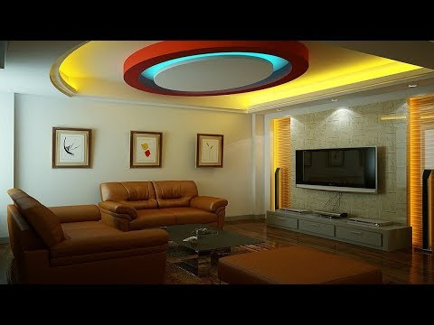 fall ceiling designs for living room in india rattan false youtube
