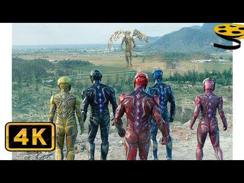 Могучие Рейнджеры против Голдара | Могучие рейнджеры (2017) 4K ULTRA HD