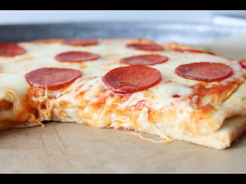 How To Make Cheese Stuffed Pepperoni Pizza - By One Kitchen Episode 558
