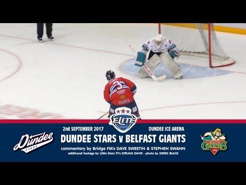 02/09/2017 - Dundee Stars v Belfast Giants