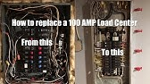 How To Change Out A Load Center (or Breaker Box) - YouTube Diagrams Load Wiring Center Electrical Hom on