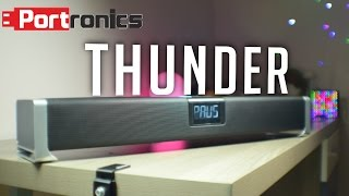 portronics thunder 60 watt sound bar review