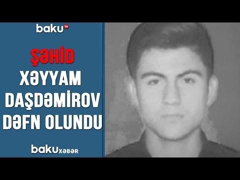 Şəhid Xəyyam Daşdəmirov dəfn olundu (13.07.2020)
