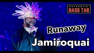 RUNAWAY - Jamiroquai - Bass Cover /// Bruno Tauzin