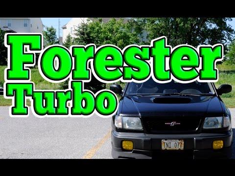 Regular Car Reviews: 1998 Subaru Forester